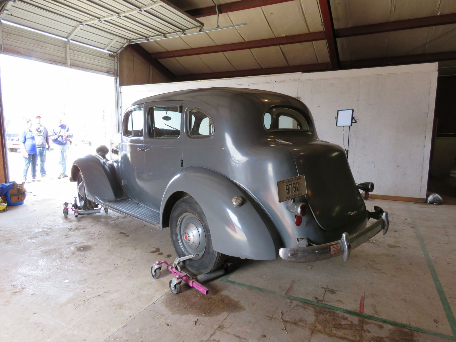 1937 Packard 6 4dr Suicide Sedan - Image 3