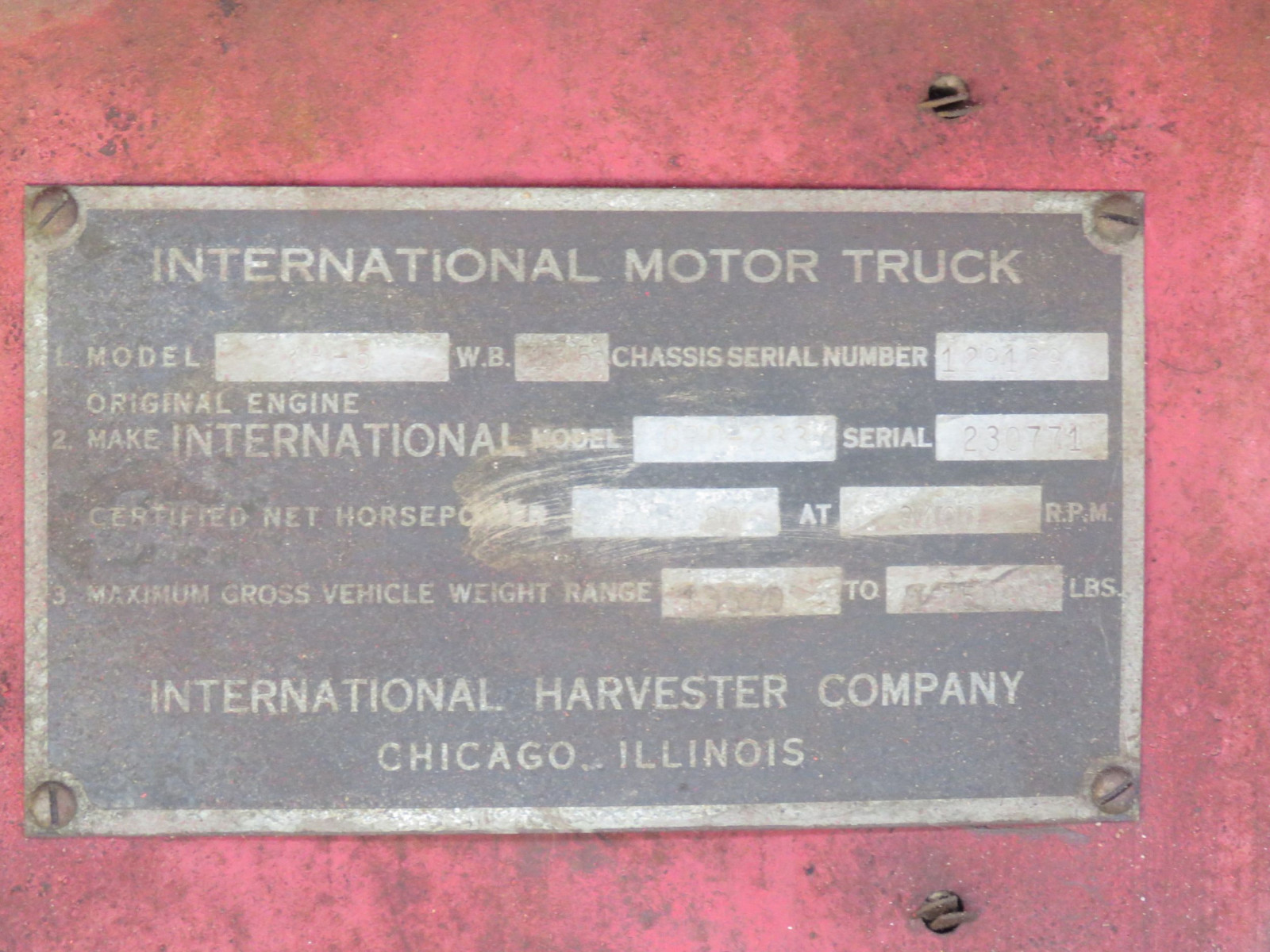 1941 International KB5 Truck - Image 6