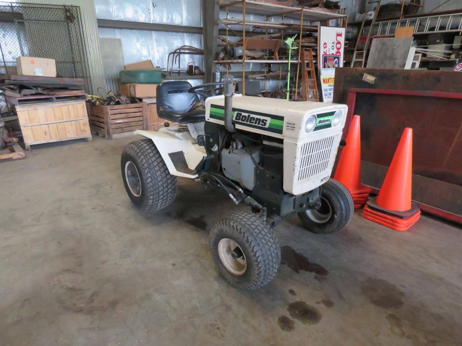 Lot 125Y – 1986 Bolens Lawn Tractor | VanderBrink Auctions