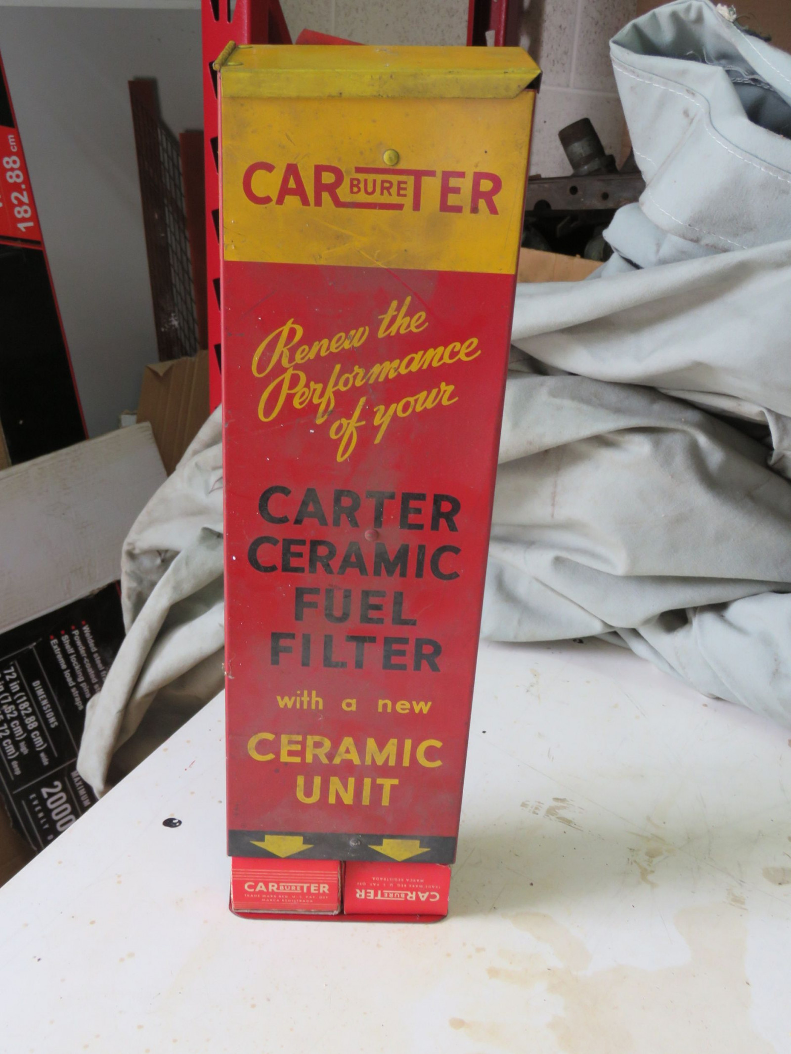 Carter Carburator Box  display - Image 1
