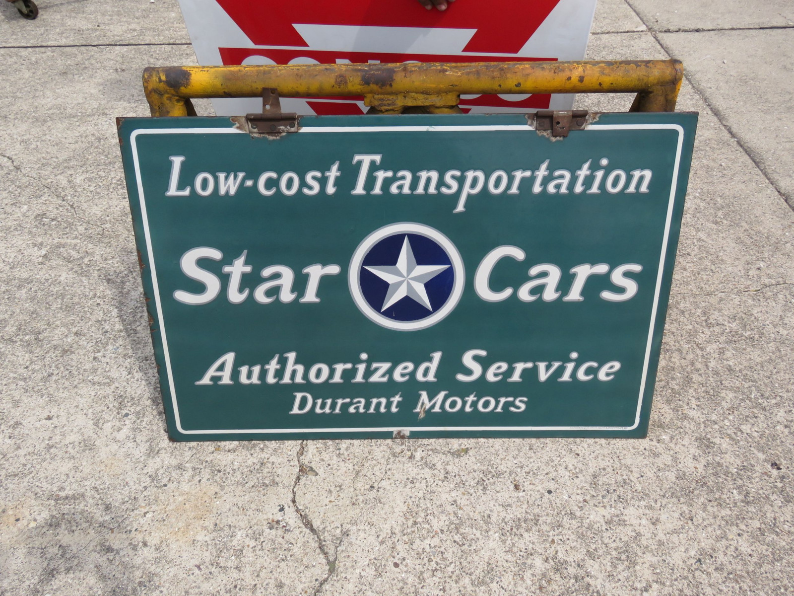Durrant Star Cars Porcelain sign - Image 1