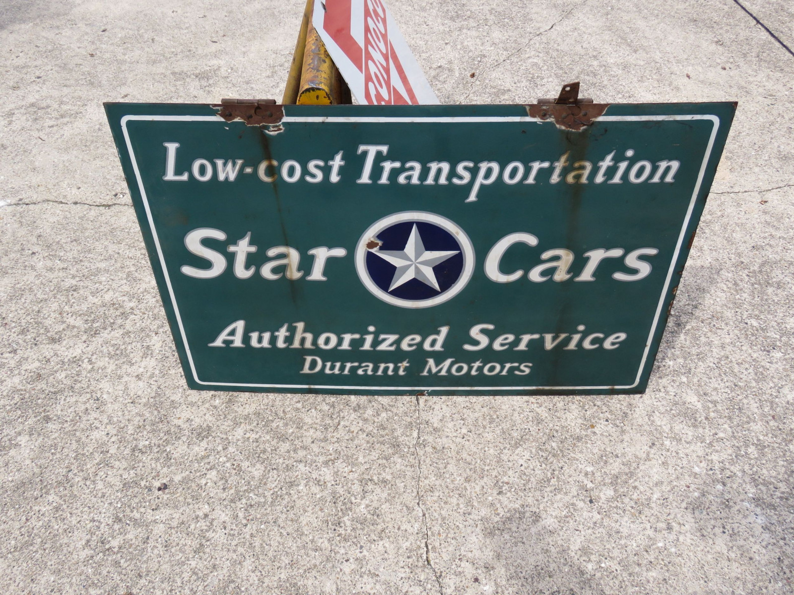 Durrant Star Cars Porcelain sign - Image 2
