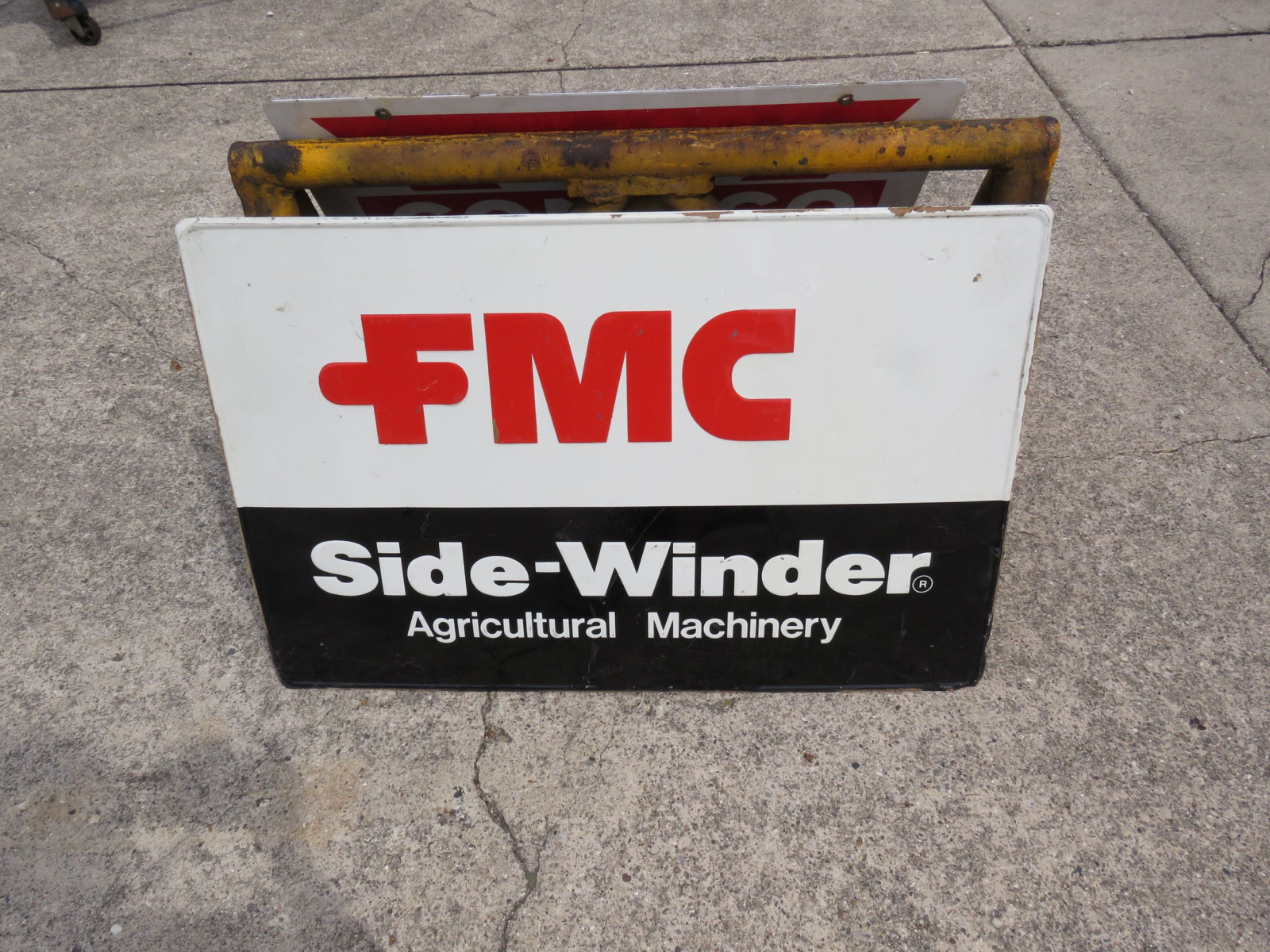 FMC Ag Equipment Sign - Image 1