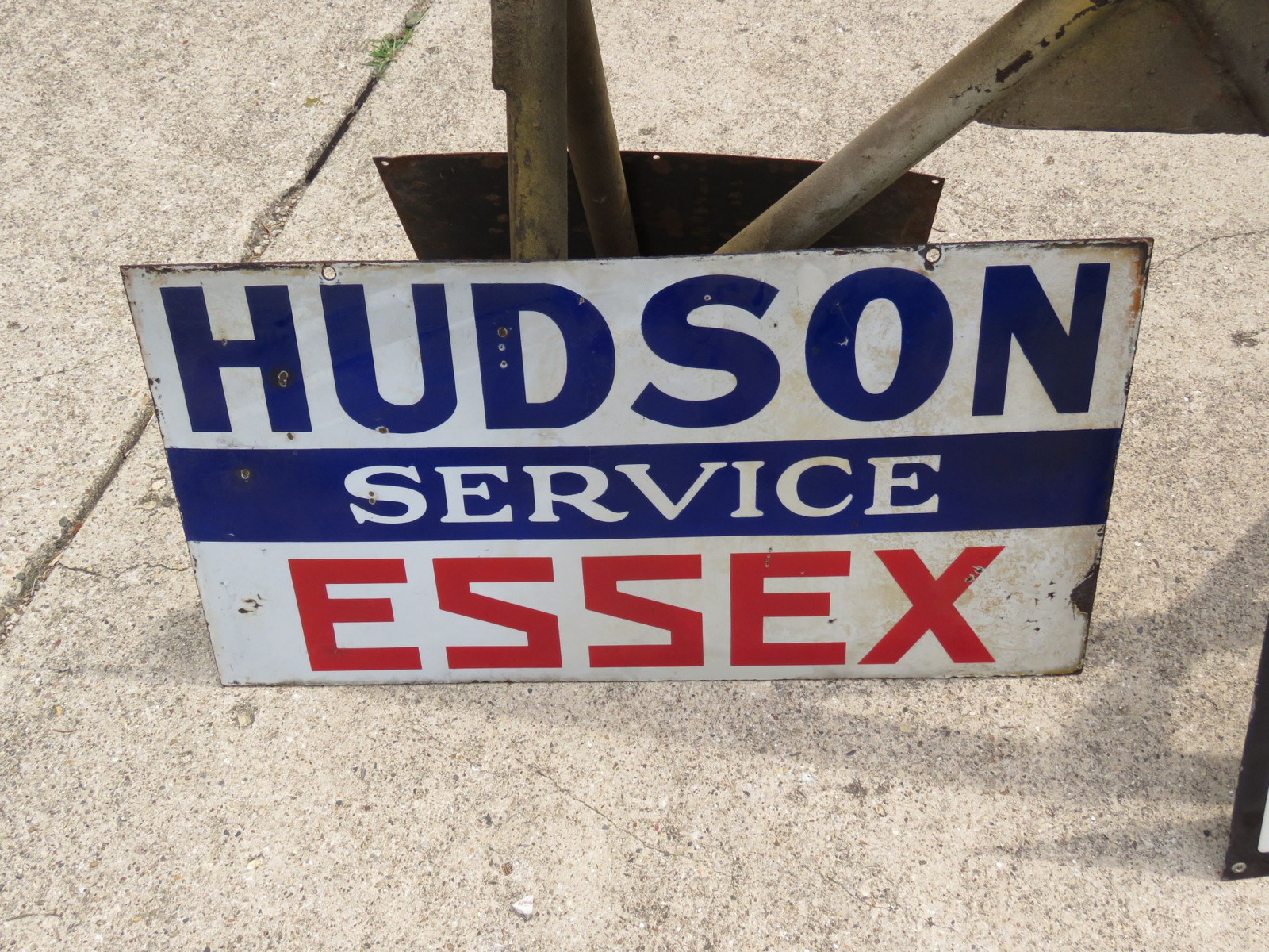 Hudson-Essex Porcelain Sign - Image 1