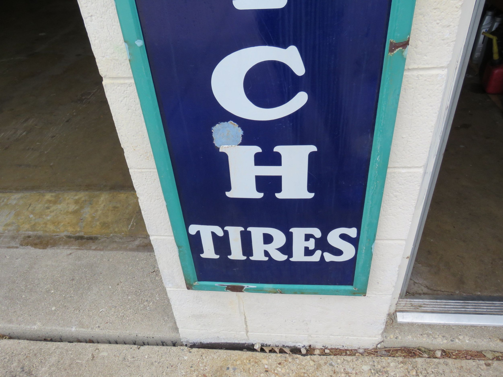 Goodrich Tires Porcelain Sign - Image 2
