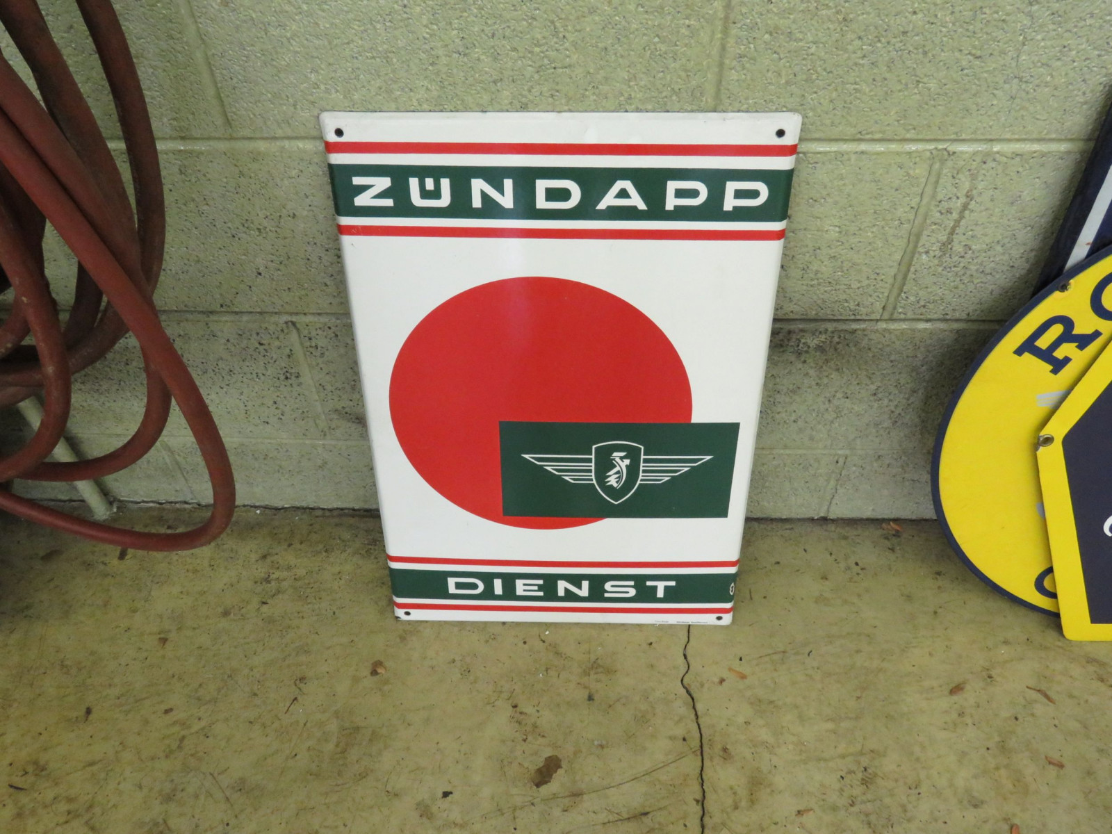 German Auto Sign - Image 1