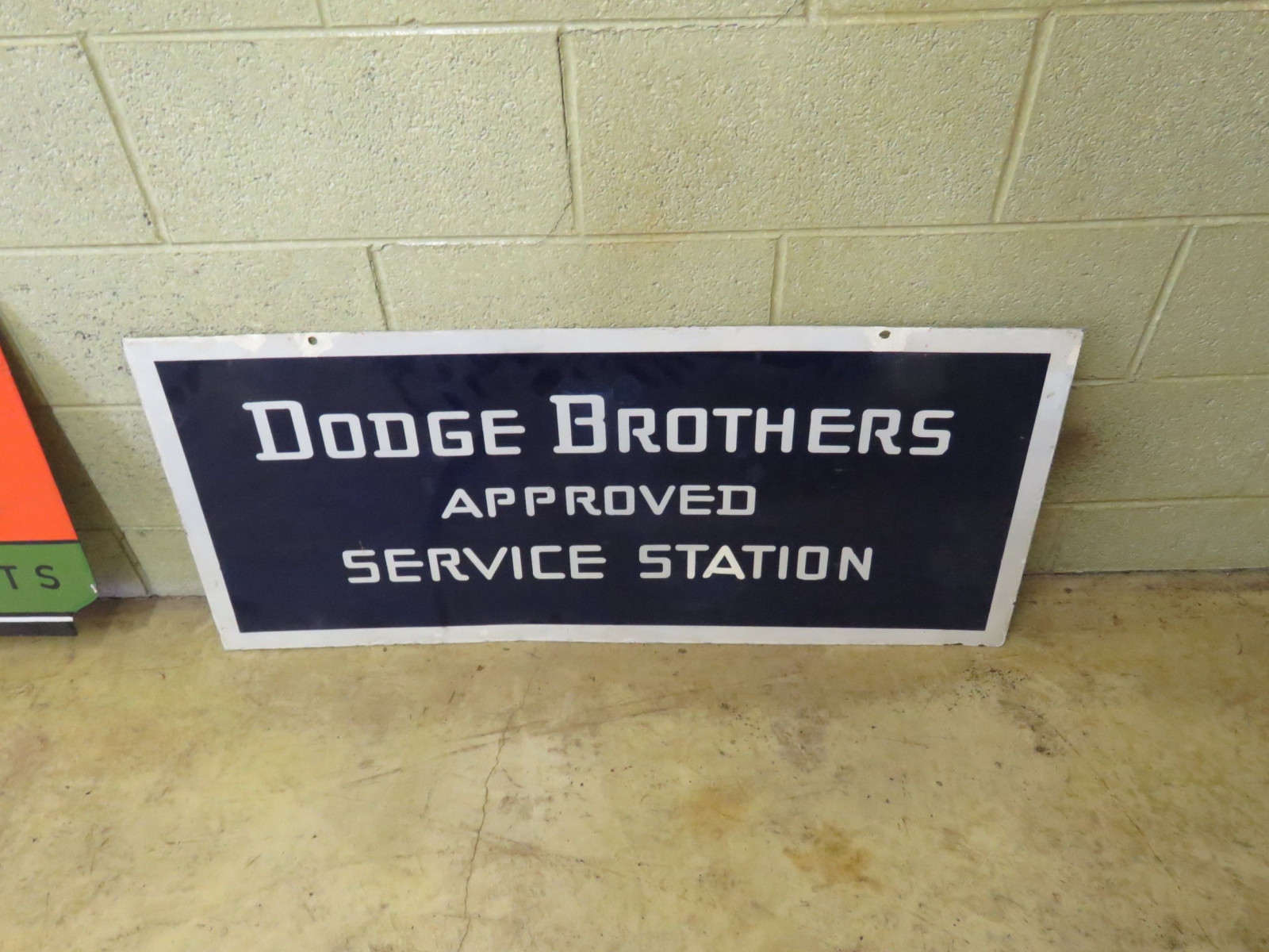 Dodge Brothers Porcelain sign - Image 1