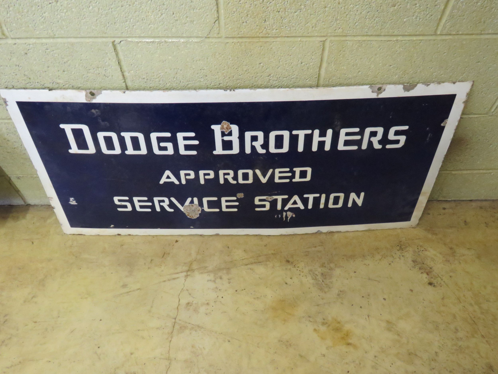 Dodge Brothers Porcelain sign - Image 2