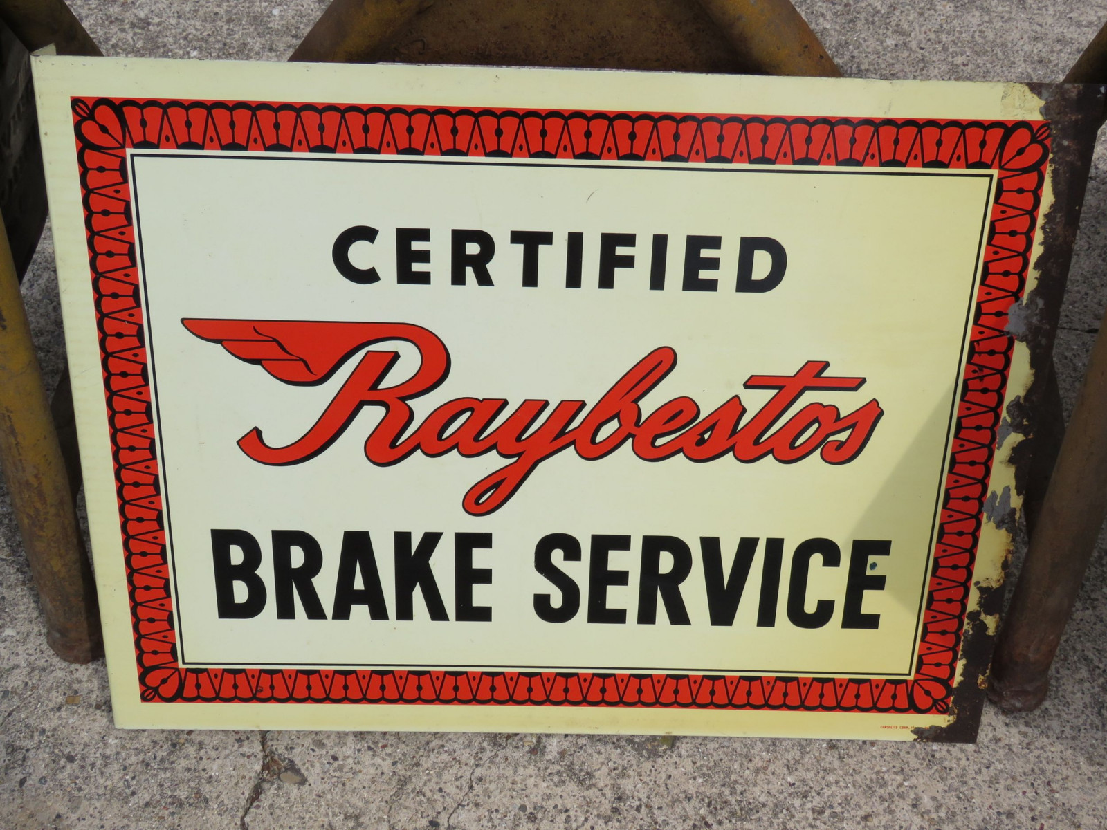 Certified Raybestos Brake Service DS Wall Flange - Image 1