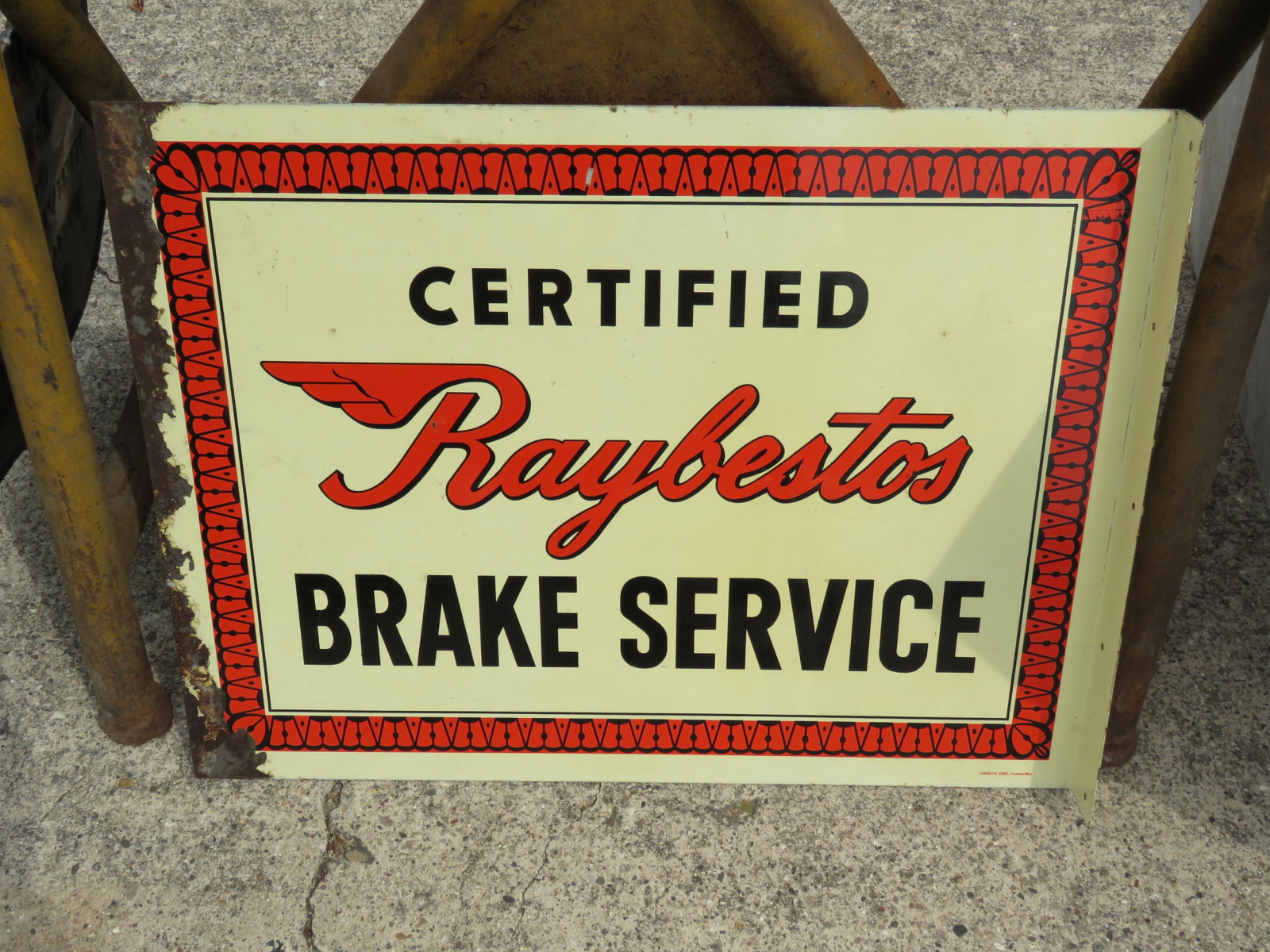 Certified Raybestos Brake Service DS Wall Flange - Image 2