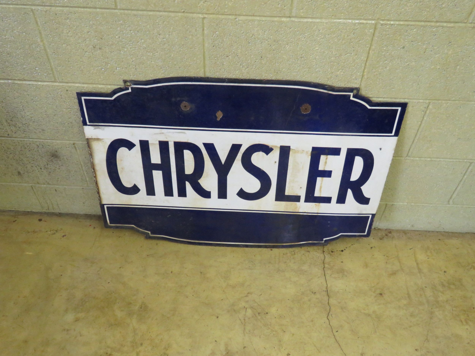 Chrysler Porcelain Sign - Image 2