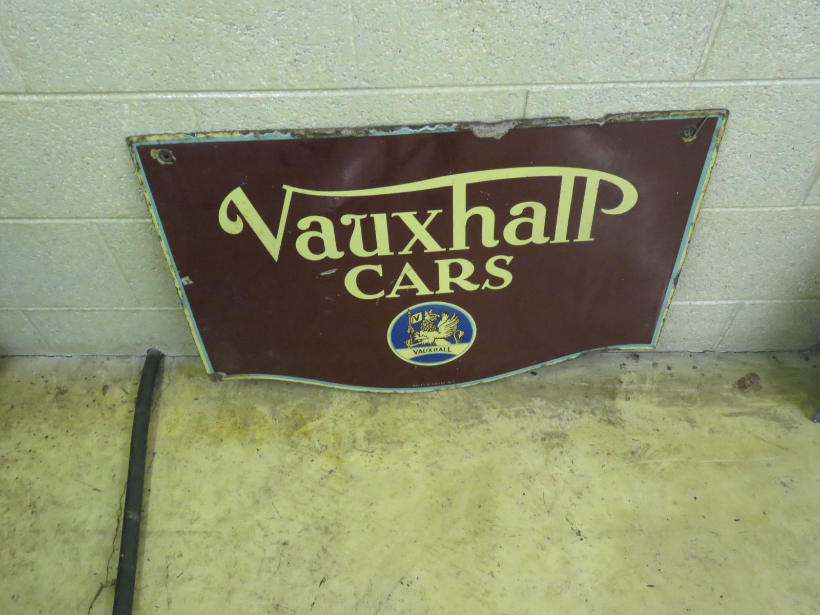 Vauxhaul Cars Porcelain Sign - Image 2
