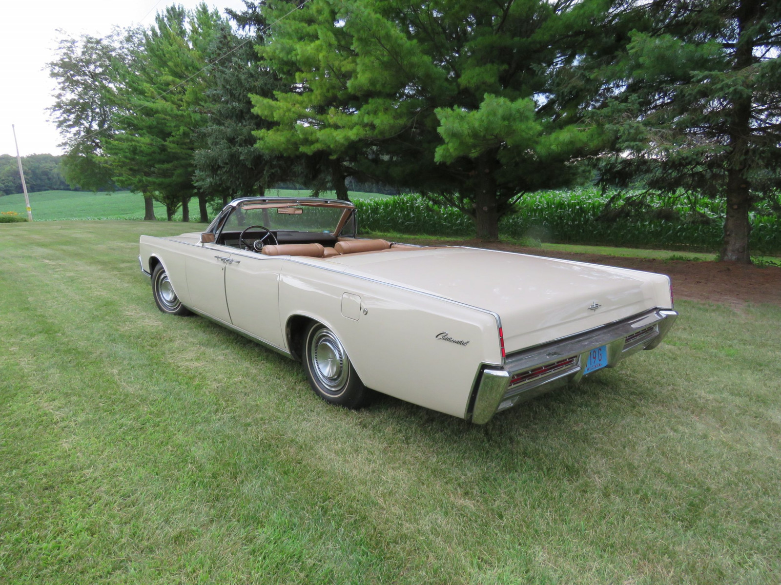 1967 Lincoln Continental 4dr Suicide Convertible - Image 7