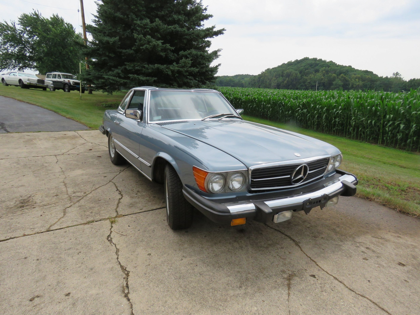 1979 Mercedes 450SL Coupe - Image 1