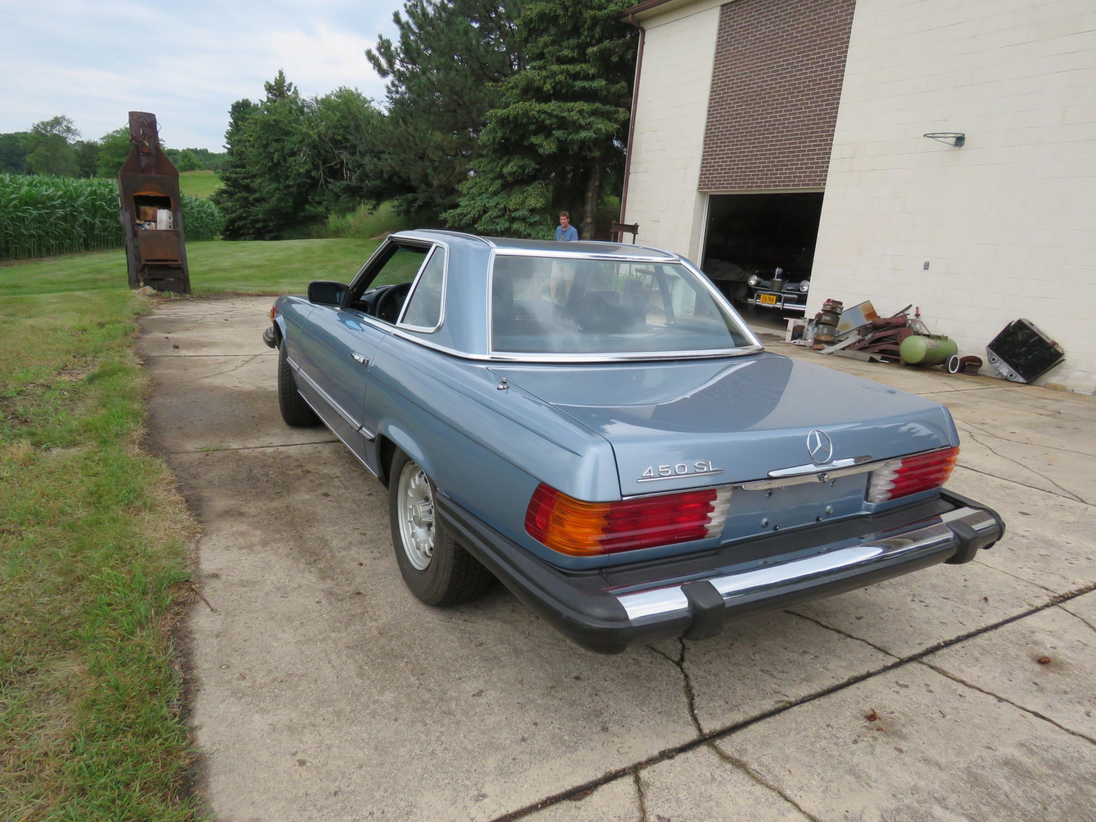 1979 Mercedes 450SL Coupe - Image 4