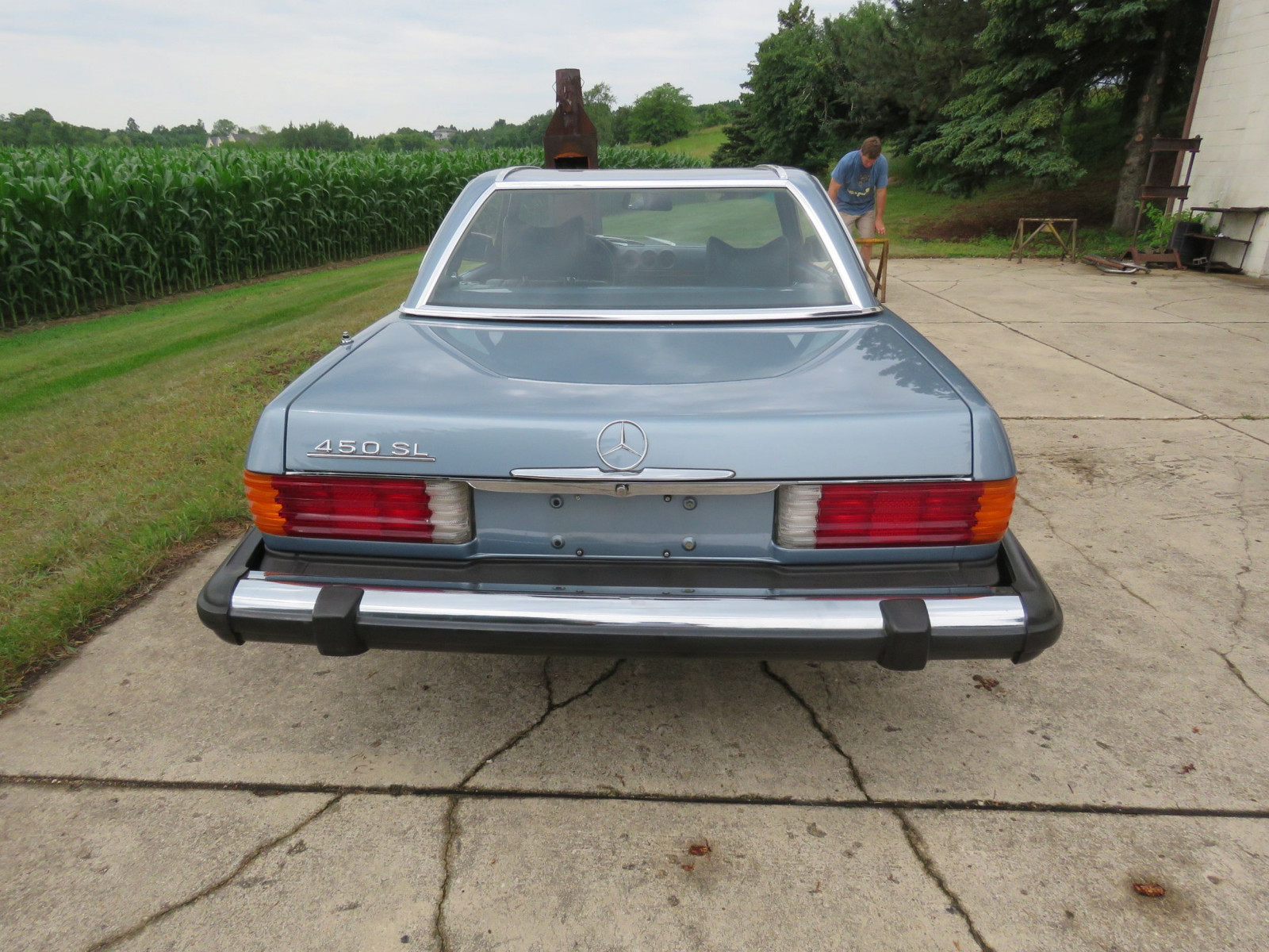 1979 Mercedes 450SL Coupe - Image 5