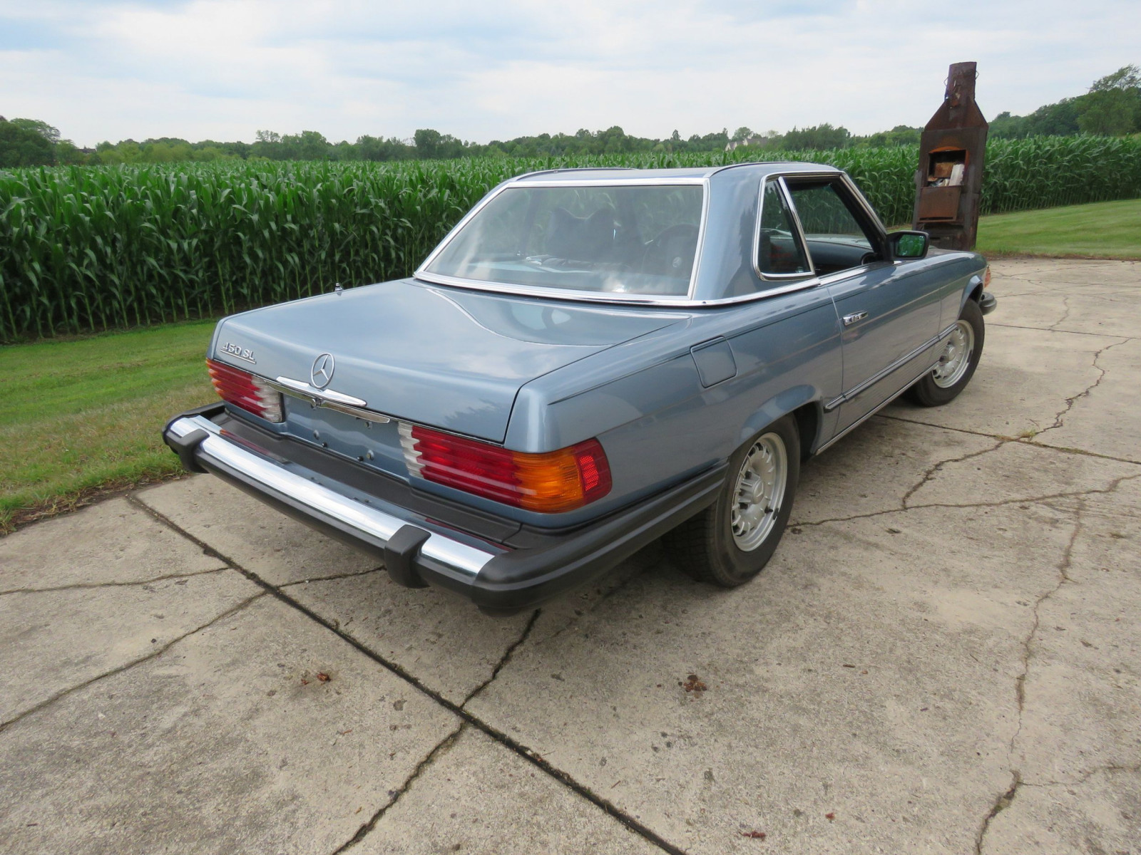 1979 Mercedes 450SL Coupe - Image 6
