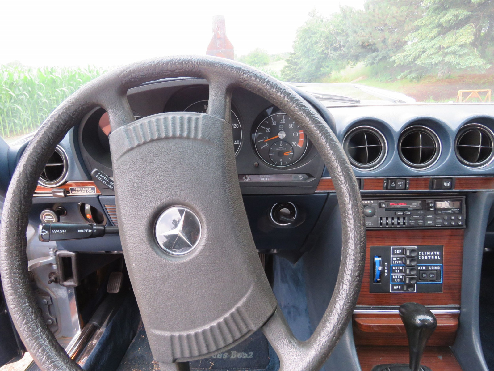 1979 Mercedes 450SL Coupe - Image 8