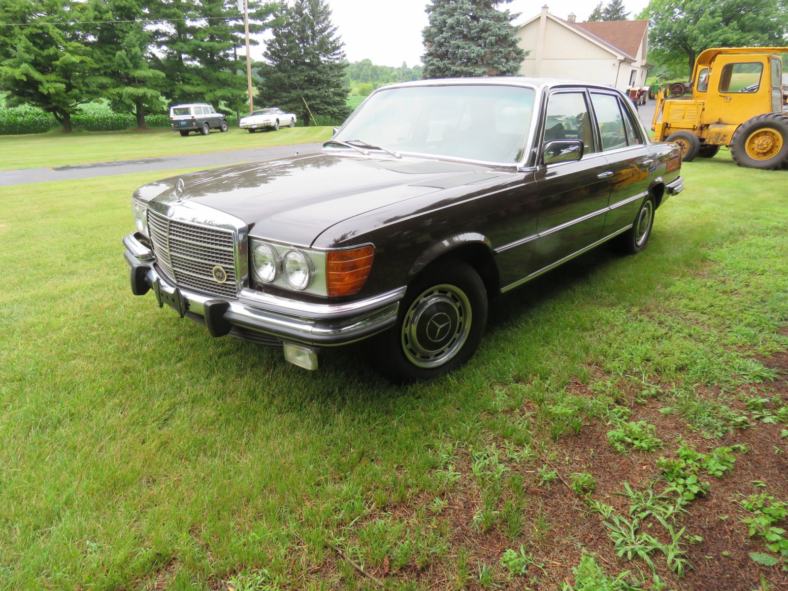1973 Mercedes 450 SE 4dr Sedan - Image 3