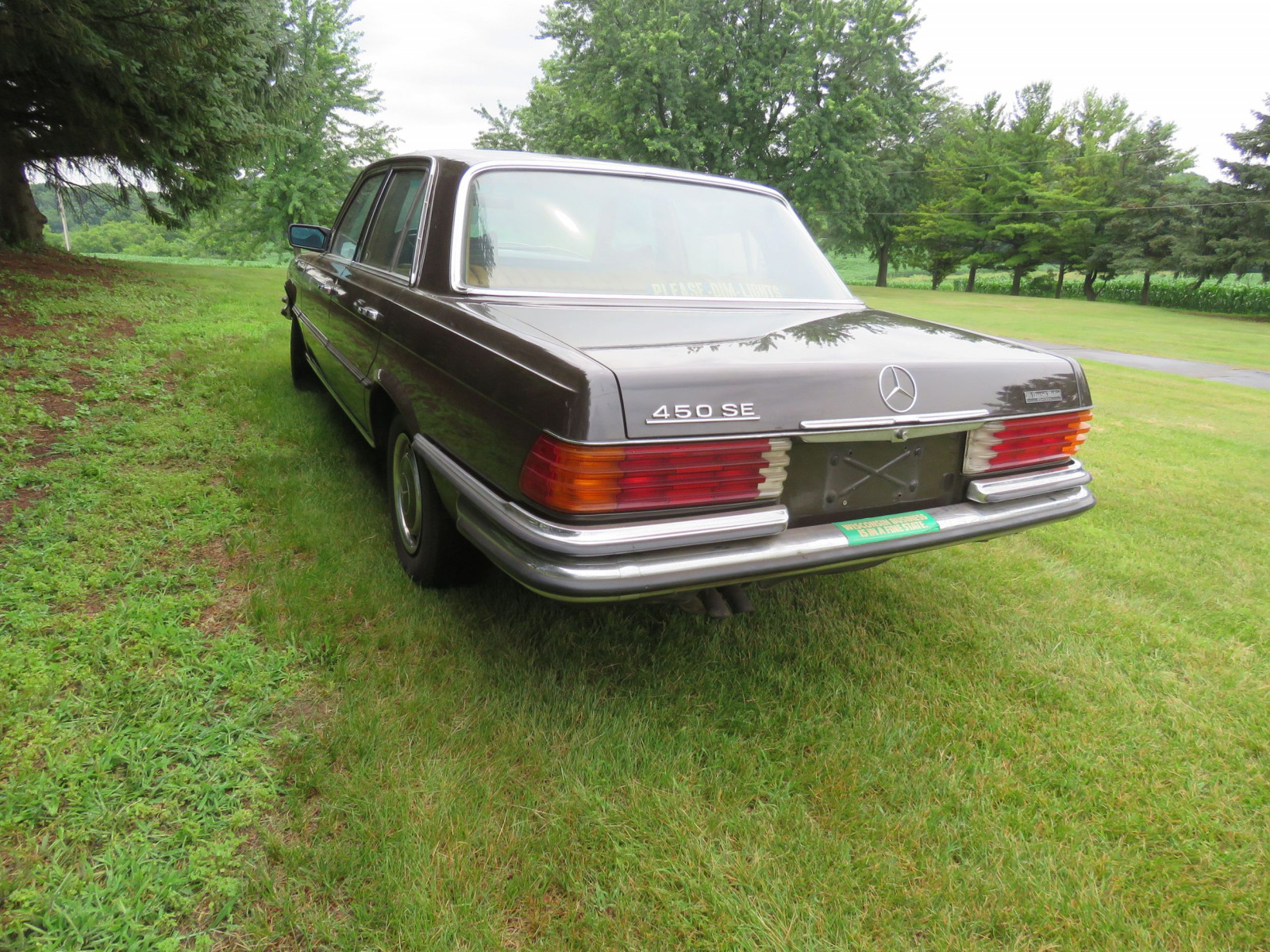 1973 Mercedes 450 SE 4dr Sedan - Image 4