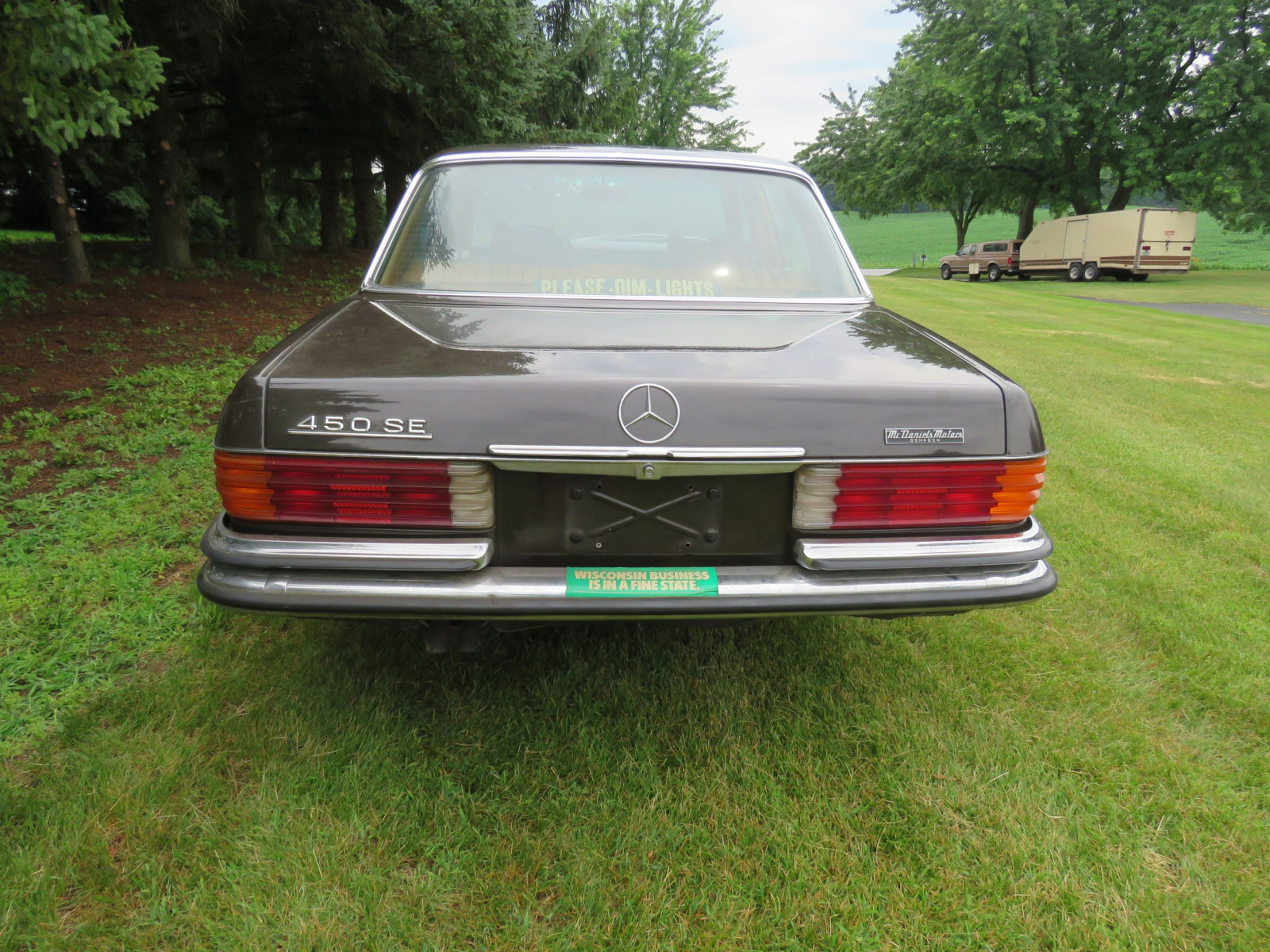 1973 Mercedes 450 SE 4dr Sedan - Image 5