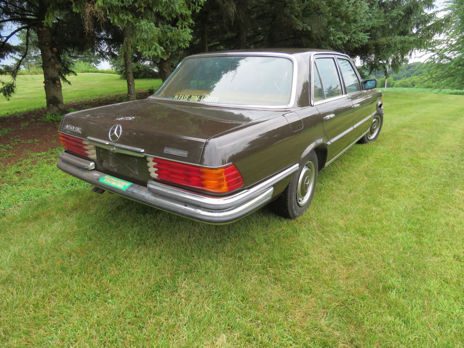 1973 Mercedes 450 SE 4dr Sedan - Image 6