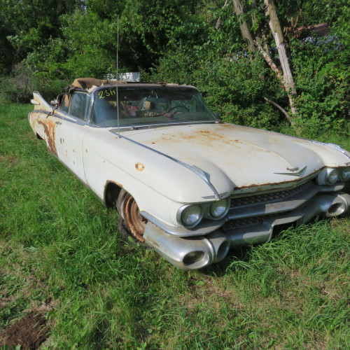 Auction Catalog For 1959 Cadillacs & More! ONLINE ONLY