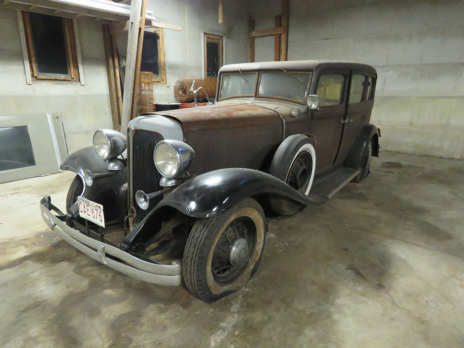 RARE 1932 Chrysler 4dr Sedan - Image 1
