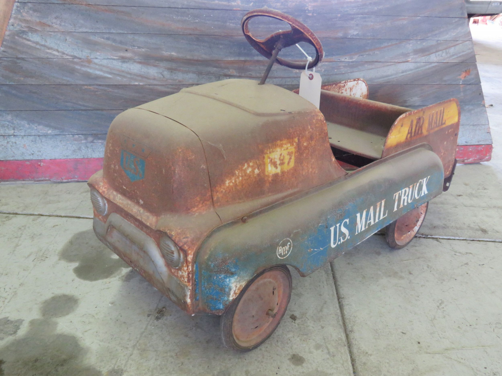 AMF Air Mail Truck Pedal Car for Restore - Image 1