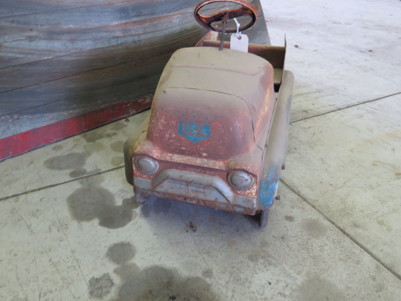 AMF Air Mail Truck Pedal Car for Restore - Image 2