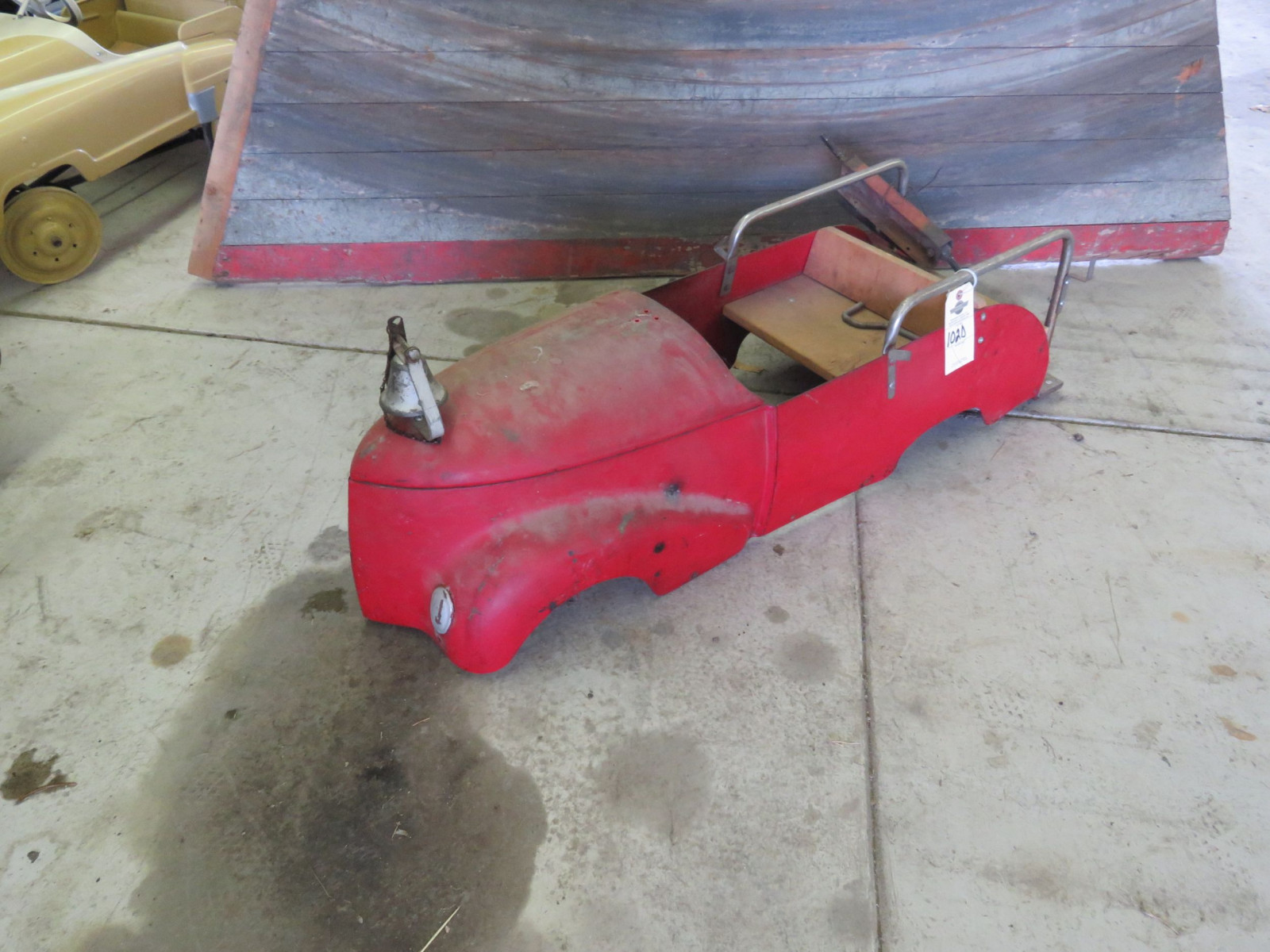 Vintage Pedal Car Body for Restore - Image 1
