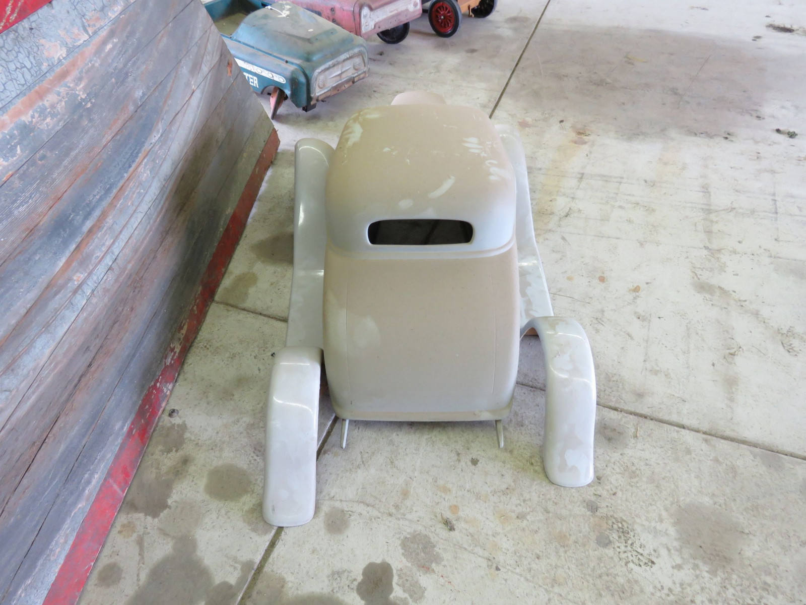 1932 Ford Coupe Fiberglass Body for Project Pedal Car - Image 2