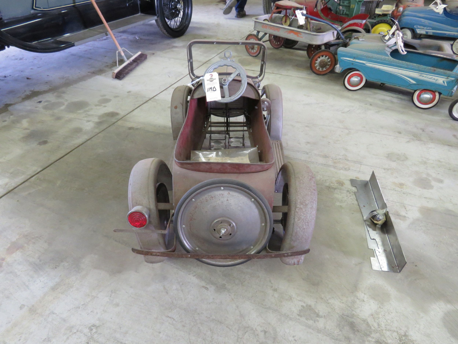 Rare Steel craft Studebaker Pedal Car - Image 5