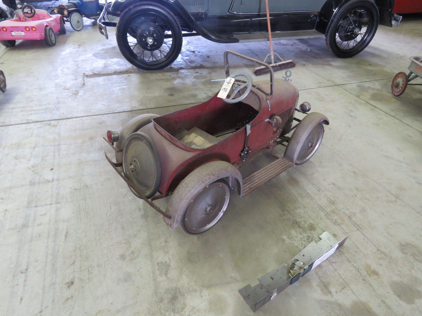 Rare Steel craft Studebaker Pedal Car - Image 6