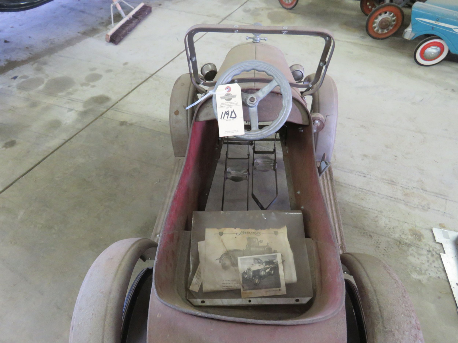 Rare Steel craft Studebaker Pedal Car - Image 8