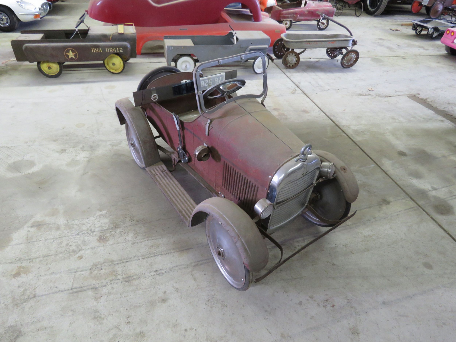 Rare Steel craft Studebaker Pedal Car - Image 9