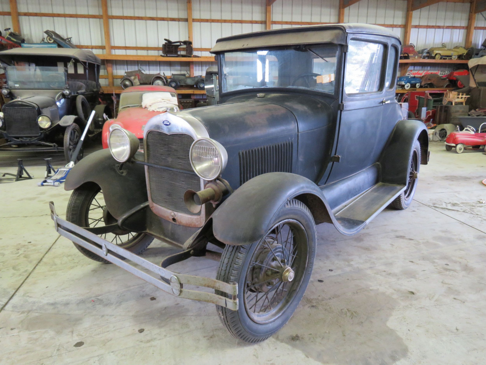 1929 Ford Model A 5 Window Coupe - Image 12