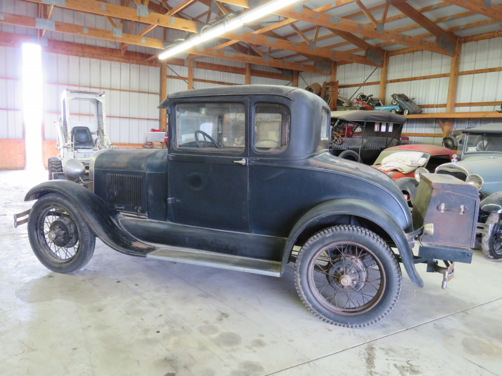 1929 Ford Model A 5 Window Coupe - Image 7