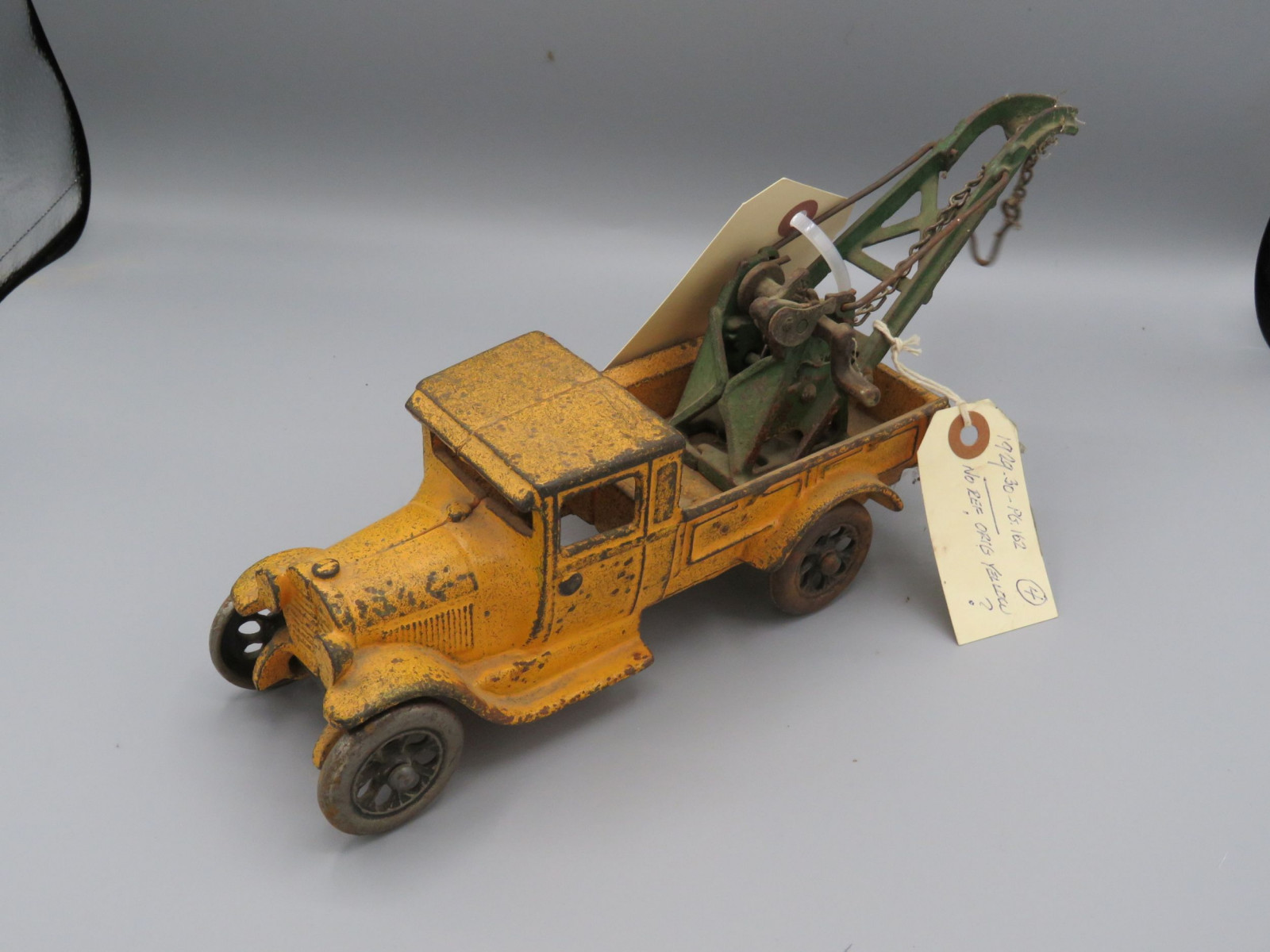 Cast Iron Tow Truck @1929 Approx. 8 inches - Image 2