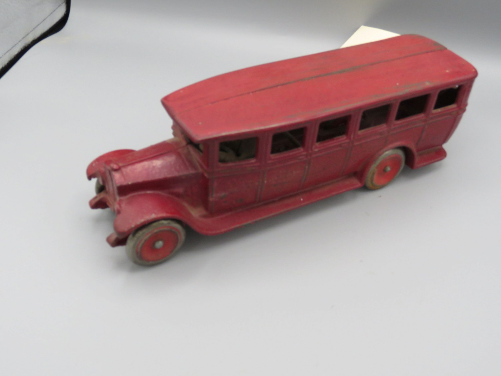 Vintage Cast Iron Bus Approx. 10 inches  Seto - Image 2