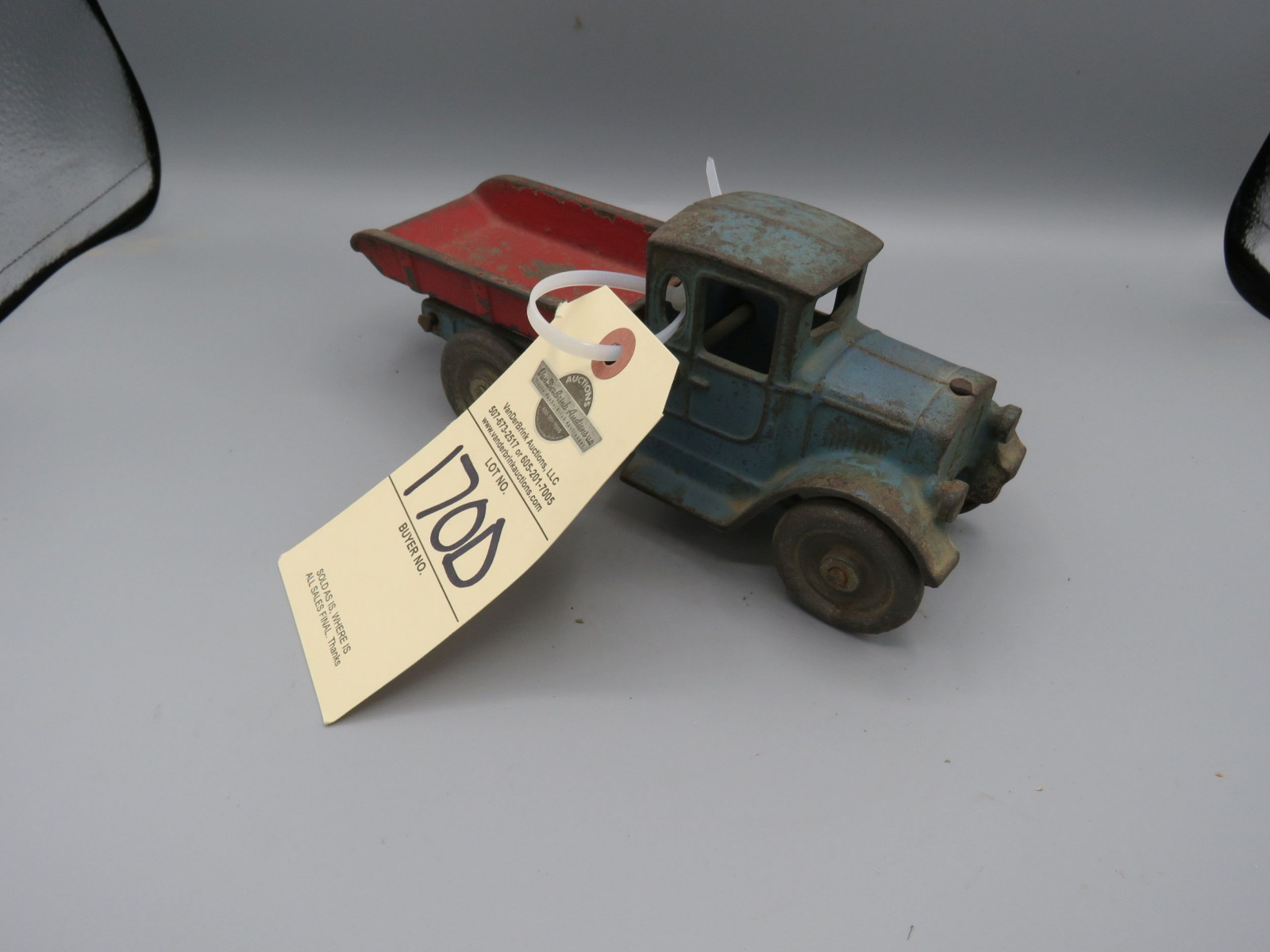 Kilgore Cast Iron Truck @1920's CT 742A  Approx. 8 inches - Image 1