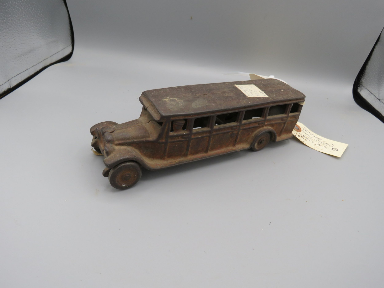 Friedag Manufacturing Company Cast Iron Bus @1920 Approx. 10 inches - Image 2