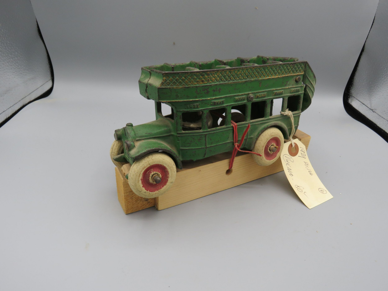 Arcade Cast Iron double Decker Bus @1939 Approx. 8 inches - Image 2