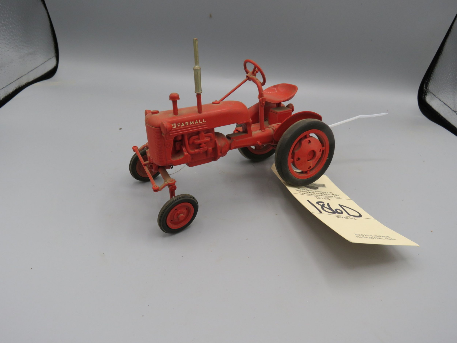 Plastic/rubber B Farmall Toy - Image 1