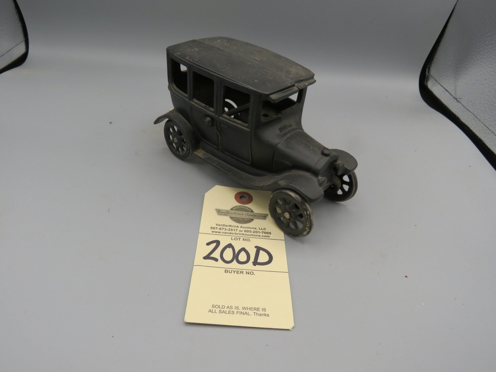Arcade Cast Iron Ford Model T @1924 Approx. 6 inches - Image 2