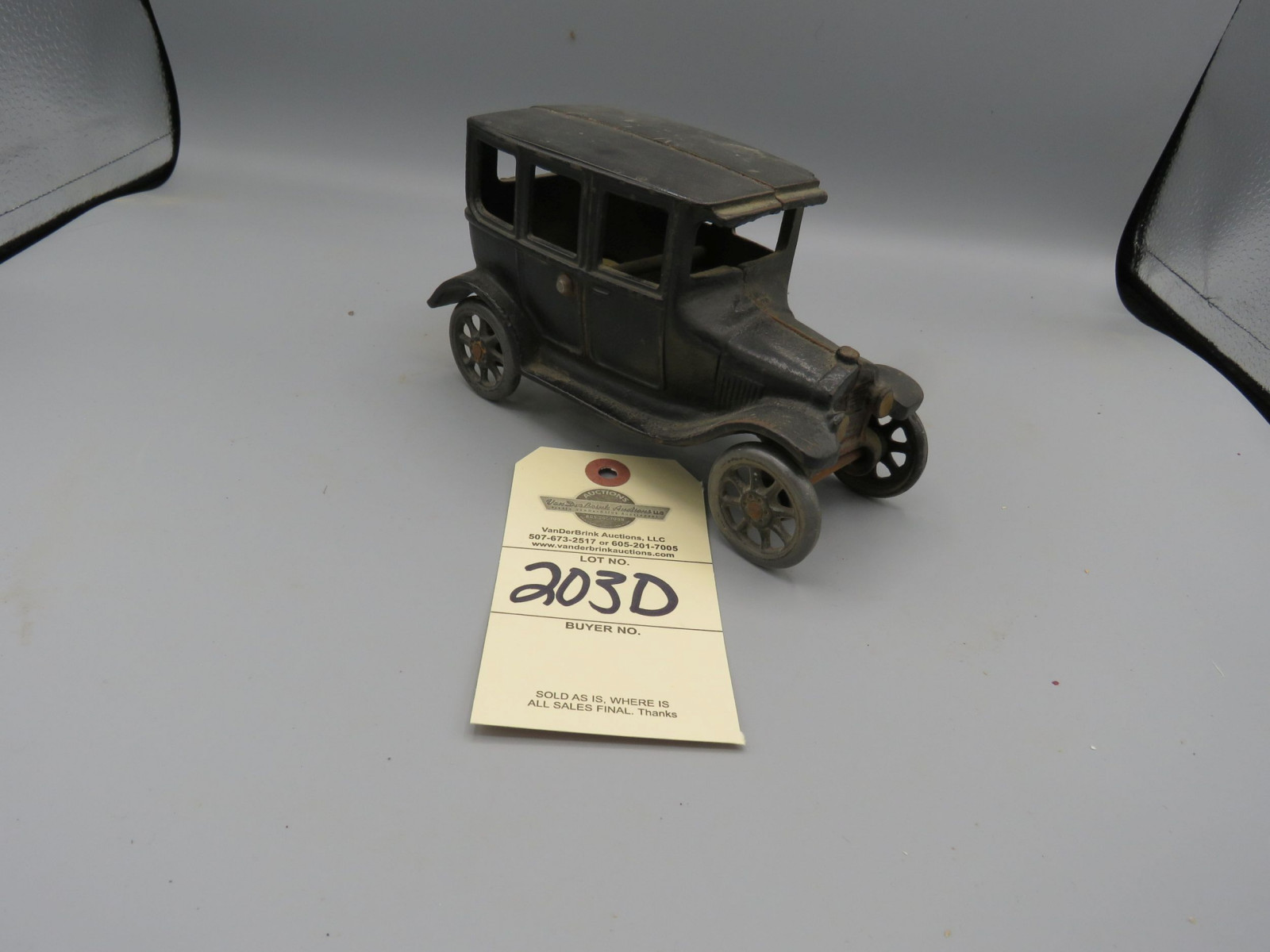 Arcade Cast Iron Chevrolet Superior Sedan @1925 Approx. 7 inches - Image 2