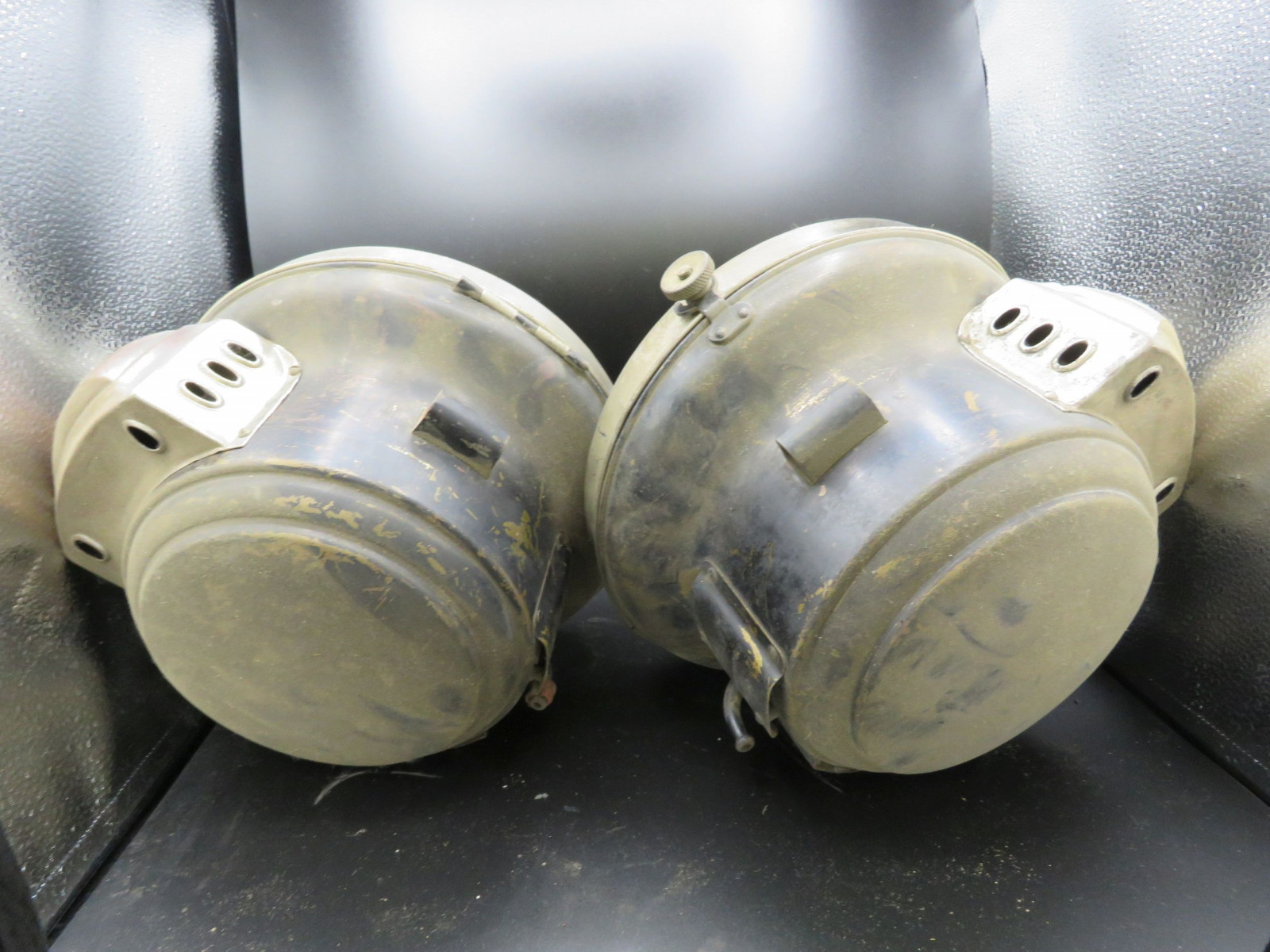 Pair of Vintage Headlights - Image 2