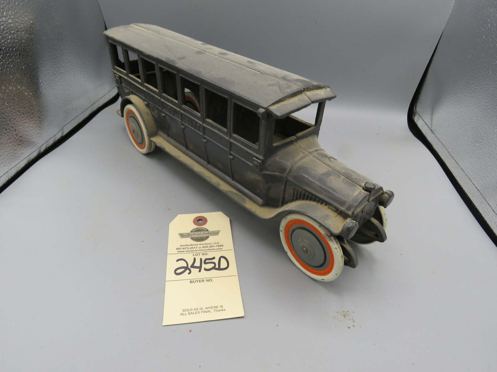 Believed to be Reproduction Arcade Bus - Image 1