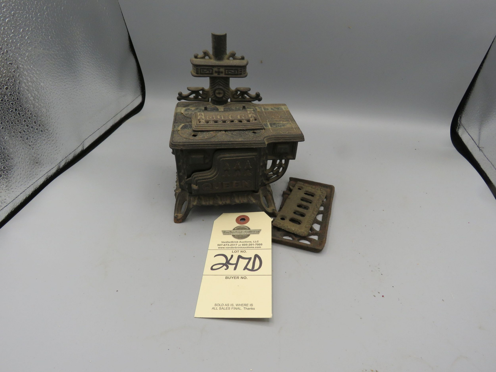 Cast Iron Sampler Stove - Image 1