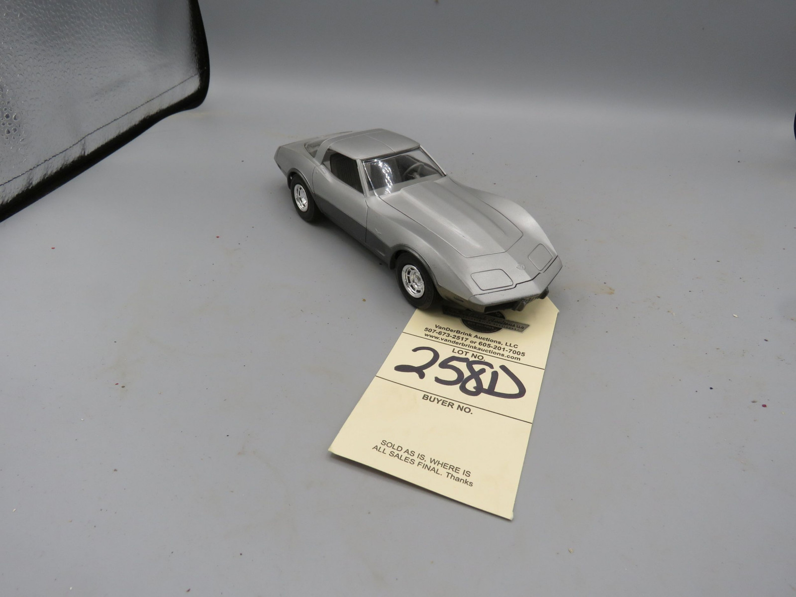 1978  Chevrolet Corvette Promotional Model NIB Plastic - Image 1